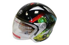 Открытый шлем V529 с аэрографией