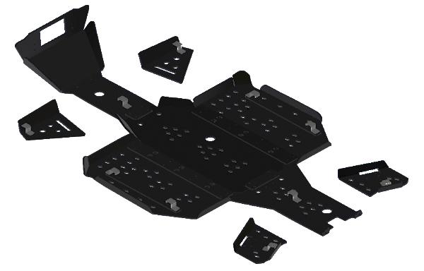 Пластиковая защита днища для СFMOTO CFORCE 600 EPS
